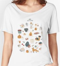 Hello Autumn Relaxed Fit T-Shirt