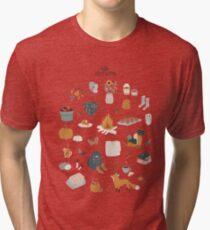 Hello Autumn Tri-blend T-Shirt