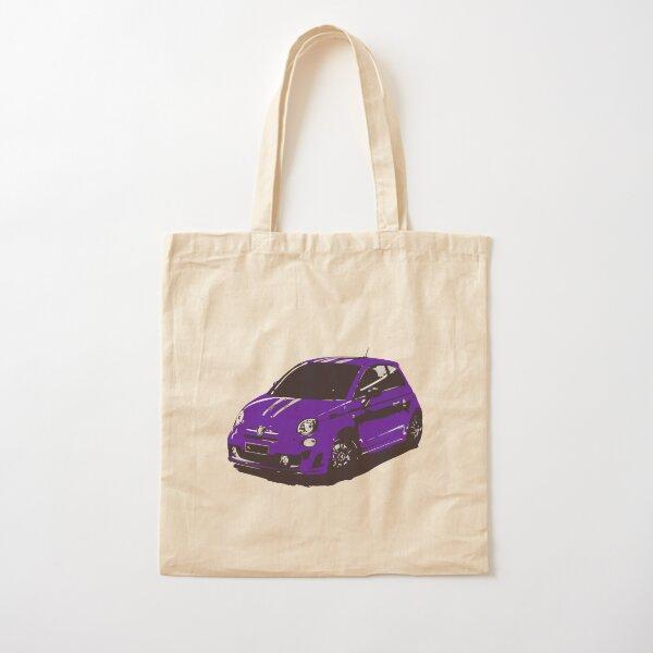 FIAT 500 Abarth - Cute Little Italian City Car Cotton Tote Bag
