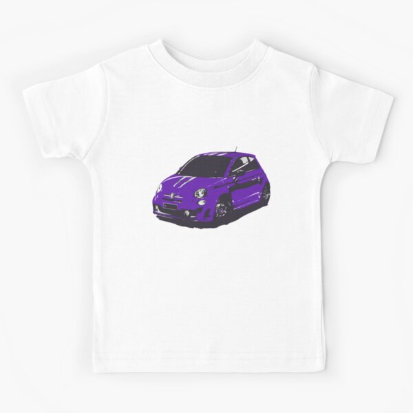 FIAT 500 Abarth - Cute Little Italian City Car Kids T-Shirt