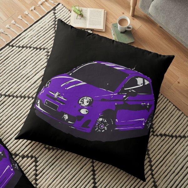 FIAT 500 Abarth - Cute Little Italian City Car Floor Pillow