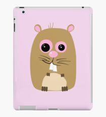 Cartoon Hamster iPad Case/Skin
