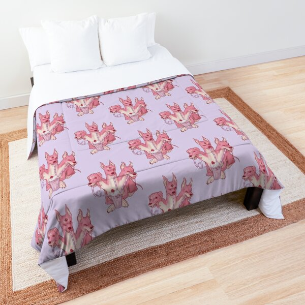 Strawberry Cerberus Comforter