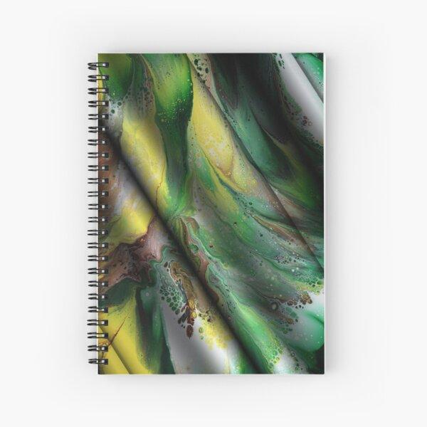 Summer Silk Spiral Notebook
