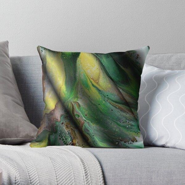 Summer Silk Throw Pillow