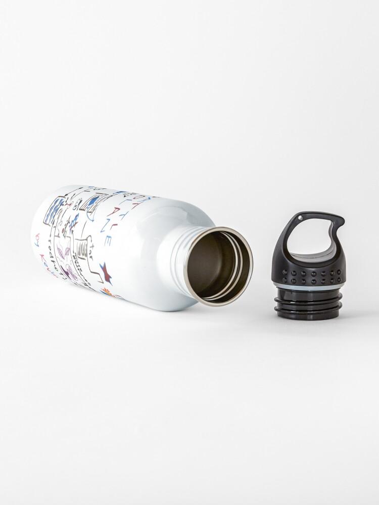 Alternate view of Kevin's Battle Plan Water Bottle
