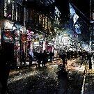 Bourbon Street Night by Ron Domingue