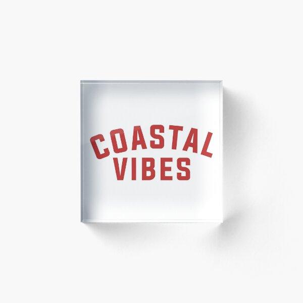 Coastal Vibes Acrylic Block