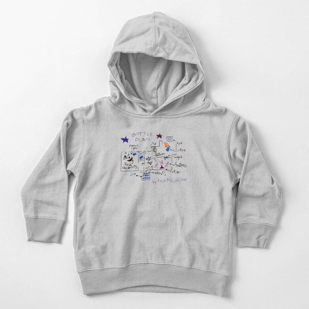 Kevin's Battle Plan Toddler Pullover Hoodie