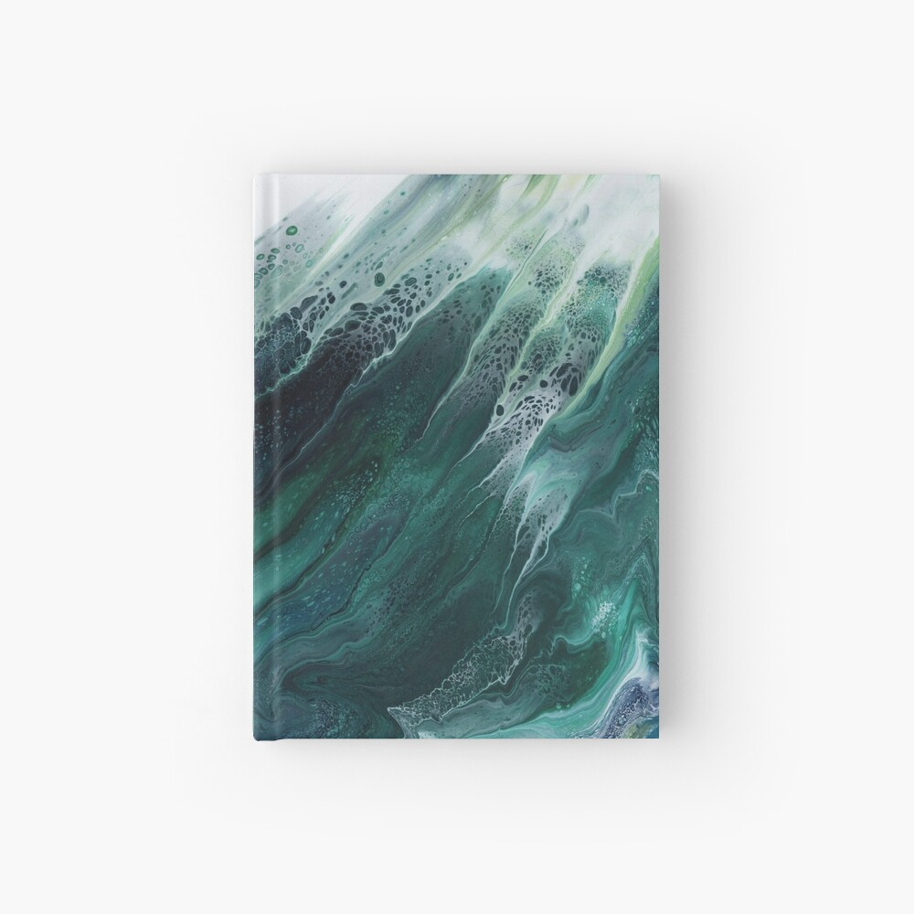 The Wave Rises Hardcover Journal