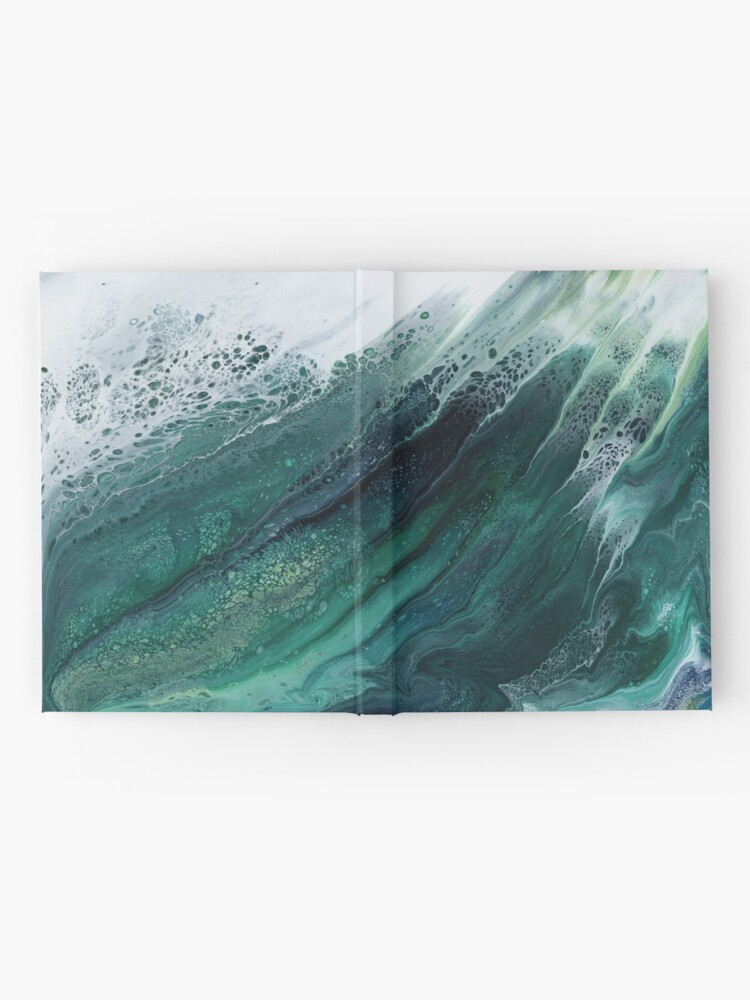 Alternate view of The Wave Rises Hardcover Journal