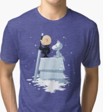 WINTER PEANUTS Tri-blend T-Shirt