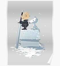 WINTER PEANUTS Poster