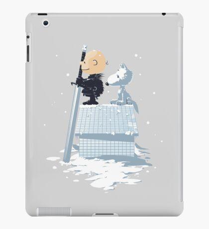 WINTER PEANUTS iPad Case/Skin