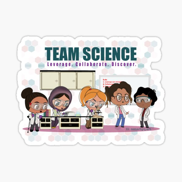 Team Science Sticker