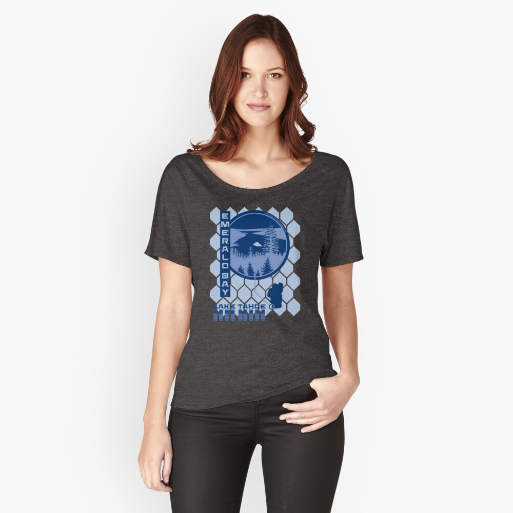 Emerald Bay (Through the Looking Glass) Women's Relaxed Fit T-Shirt Front