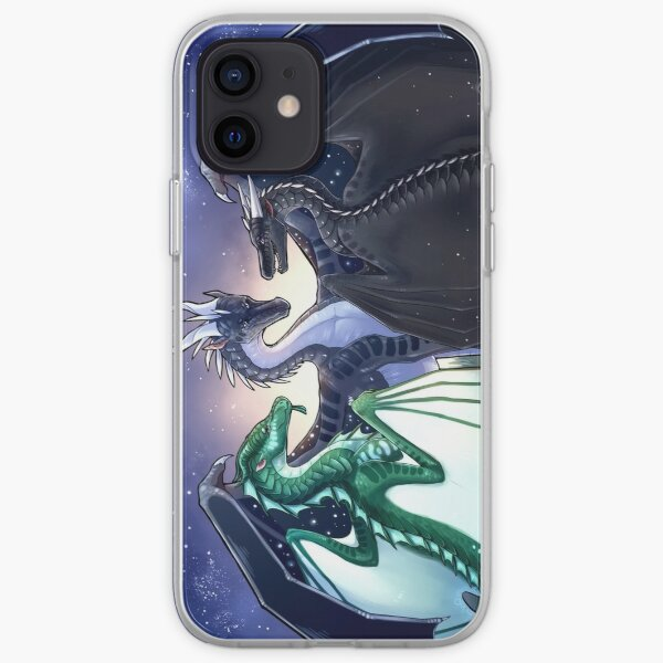 Wings of Fire - Legends - Fathom, Darkstalker, Clearsight iPhone Soft Case