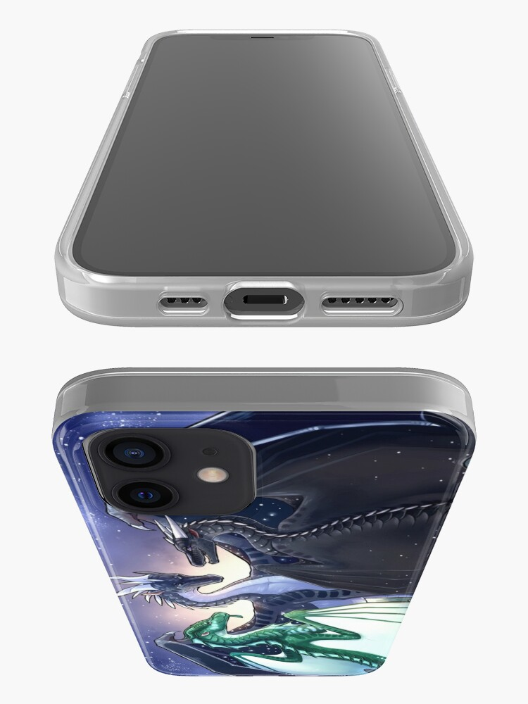 Alternate view of Wings of Fire - Legends - Fathom, Darkstalker, Clearsight iPhone Case & Cover