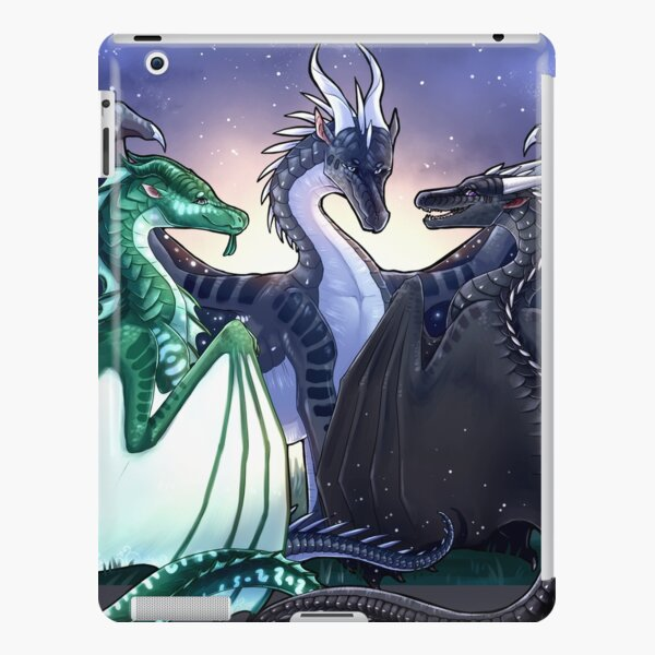 Wings of Fire - Legends - Fathom, Darkstalker, Clearsight iPad Snap Case