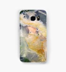 Golden Thread (Petrified Wood) Samsung Galaxy Case/Skin