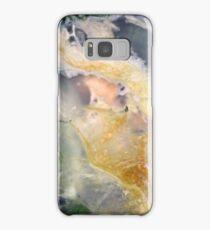 Golden Thread (Petrified Wood) Samsung Galaxy Case/Skin