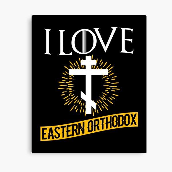 Love Eastern Orthodox Canvas Print
