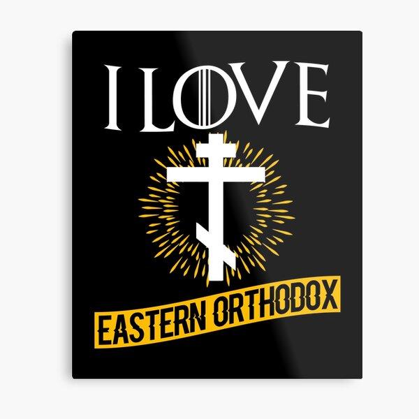 Love Eastern Orthodox Metal Print