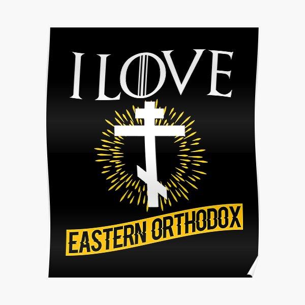 Love Eastern Orthodox Poster