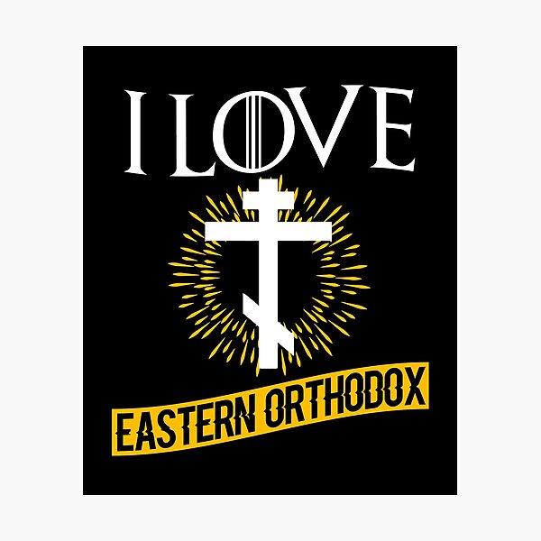 Love Eastern Orthodox Photographic Print