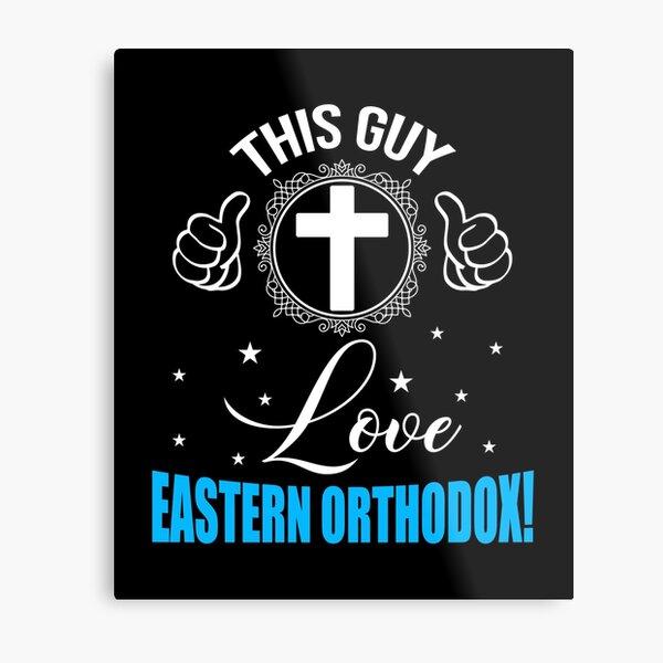 This Guy Love Eastern Orthodox Metal Print