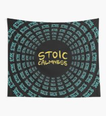 Stoic Calmness - Find Your Calm - Resist Anger Wall Tapestry
