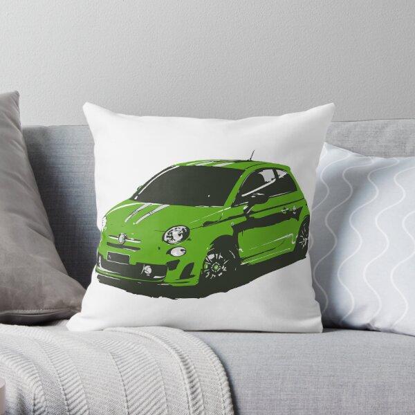 FIAT 500 Abarth - Cute Little Italian City Car Throw Pillow