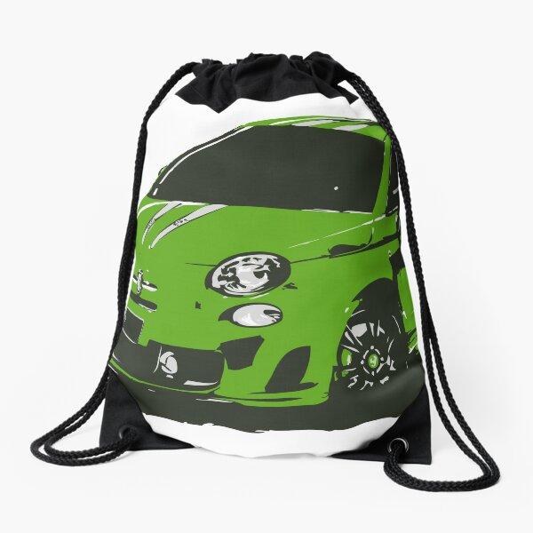FIAT 500 Abarth - Cute Little Italian City Car Drawstring Bag
