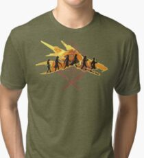 THE TWO SWORDS Tri-blend T-Shirt