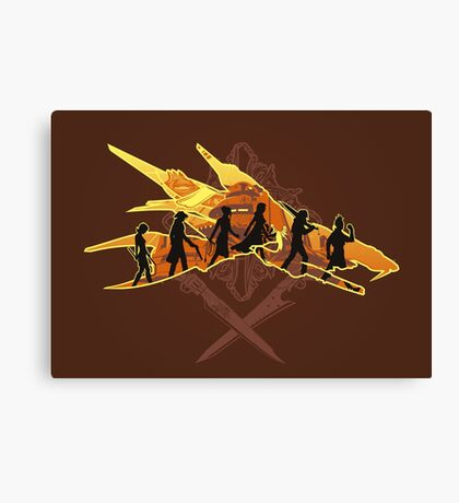 THE TWO SWORDS Canvas Print
