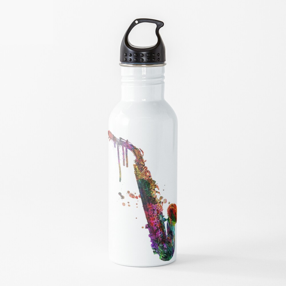 saxophone  Water Bottle