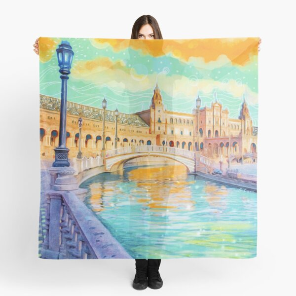 Water Reflections Scarf