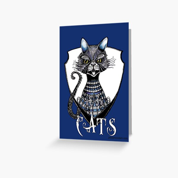 A cat named Geelong Greeting Card