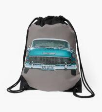 1955 Bel air Drawstring Bag