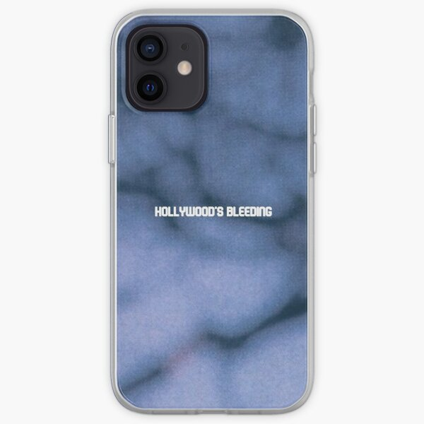 Post Malone Hollywood's Bleeding iPhone Soft Case