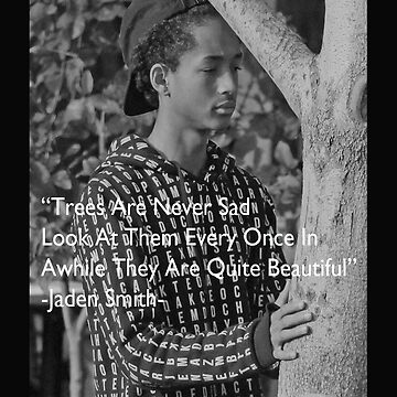 Jaden Smith #4 Tree lover by dav956able