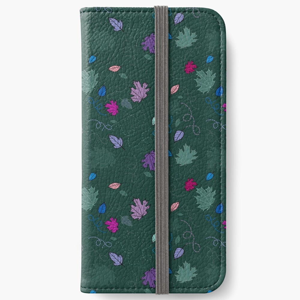 Blowing in the wind iPhone Wallet