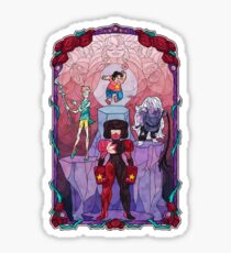 The Crystal Gems Sticker
