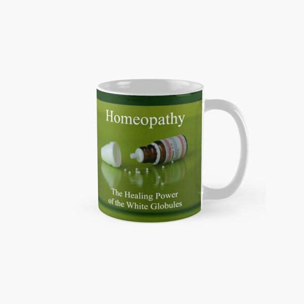 Homeopathy - The Healing Power of the White Globules Tasse (Standard)