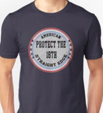 Straight Edge -- 18th amendment Unisex T-Shirt
