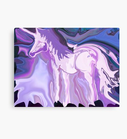 Spirit of the Unicorn Canvas Print