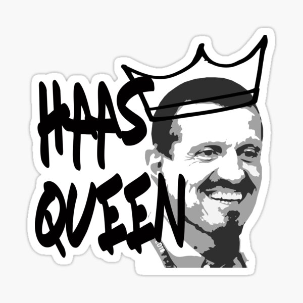 Haas Queen Sticker