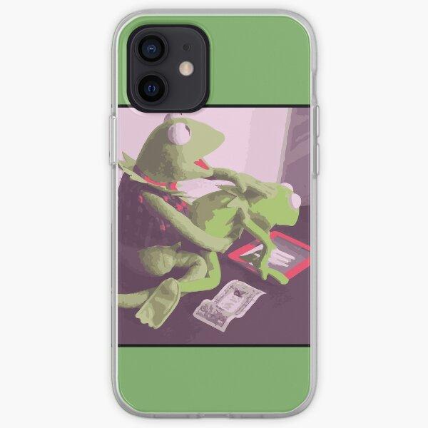 ¡Escandaloso Kermit! Funda blanda para iPhone
