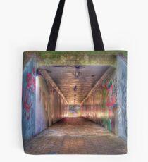 Graffiti Tunnel Tote Bag