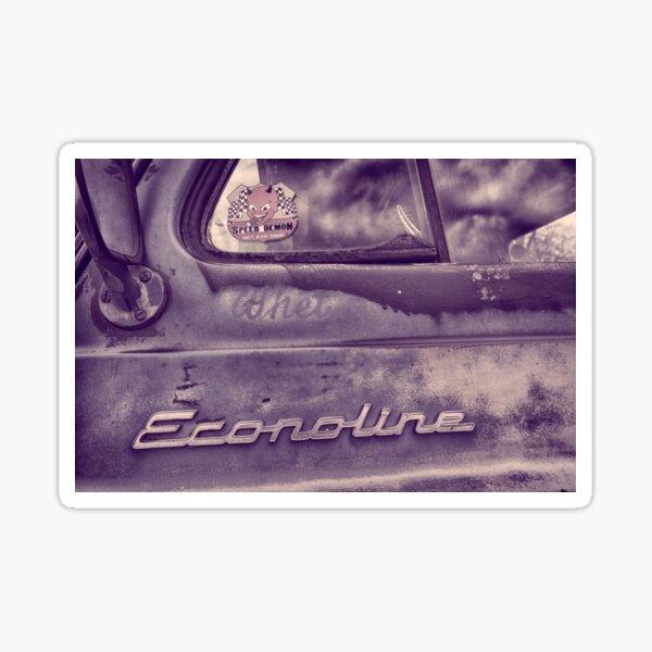 Econoline Sticker